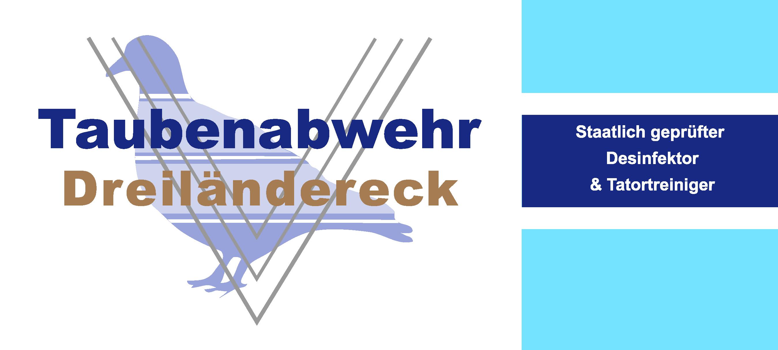 Taubenabwehr-Dreilaendereck