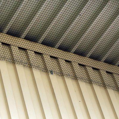 Netz unter Dach